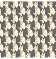 Seamless pattern of egyptian cats vector image vector image