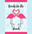 beach towels design template vector image