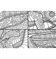 beautiful set of patterns for coloring book pages vector image vector image