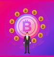bitcoin vector image