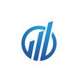 Business Finance Logo vector image vector image