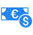cash grunge icon vector image vector image