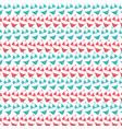female bikini swimsuit pattern background vector image