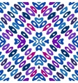 Hand drawn colorful geometric pattern vector image