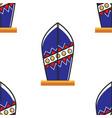 surfboard australian symbol seamless pattern beach vector image vector image