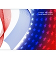 American flag abstract background of the vector image vector image