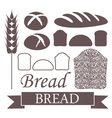 Bread Loaf Icon vector image vector image