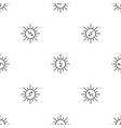 energy of sun pattern seamless vector image vector image