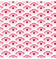 heart eyes seamless pattern lovely doodle texture vector image vector image