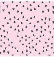 lovely seamless background pattern with hearts vector image