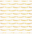 luxe gold christmas tree branch stripes vector image vector image