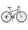 object bike vector image