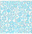 background pattern with crosses vector image vector image