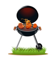 Barbecue meat vector image