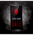 Black Friday sale promo vector image vector image