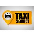 Car taxi icon Public transport design Taxi cab vector image vector image