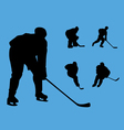 hockey collection vector image vector image
