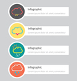 Infographic 169 vector image