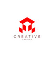 letter a gaming professional logo vector image
