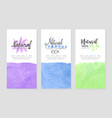 natural cosmetics health care banner templates vector image vector image