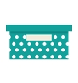 office box isolated icon design vector image