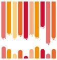 traces paint drops vector image