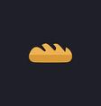 Bread computer symbol vector image