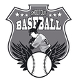 baseball sign vector image