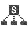 Cashout Scheme Grainy Texture Icon vector image vector image