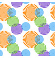 colorful pattern repeatable vector image