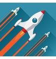 Flat design modern startup concept vector image