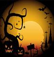 Halloween 4 vector image vector image