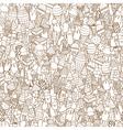 ice creams seamless pattern vector image