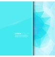 modern trend glossy blank with a background vector image vector image
