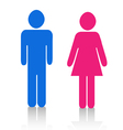 Pictograms people Man Icon Sign Symbol Pictogram vector image
