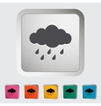Rain icon vector image vector image