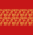 russian national hohloma seamless pattern vector image vector image