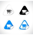 stickers for web vector vector image vector image