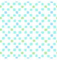 blue and green squares background vector image vector image