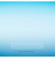 Blue smooth background vector image vector image