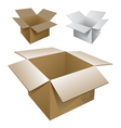 cartons vector image