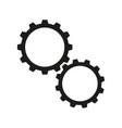 cogwheels online icons vector image vector image