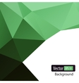 dynamic polygonal background vector image