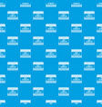happy columbus day pattern seamless blue vector image vector image
