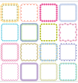 square frames vector image vector image