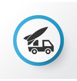 artillery icon symbol premium quality isolated vector image vector image