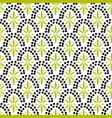 dotted fish scale geometric archs seamless pattern vector image vector image