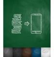 e-books icon vector image vector image