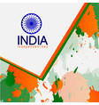 independent country baground day india vector image vector image