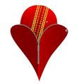 love cricket vector image vector image